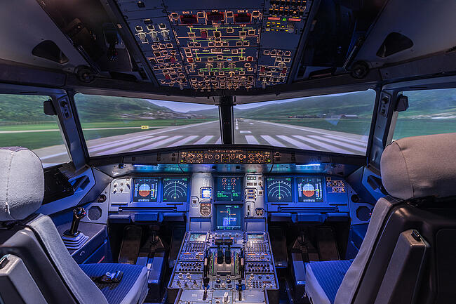 Electronics in the aerospace industry.