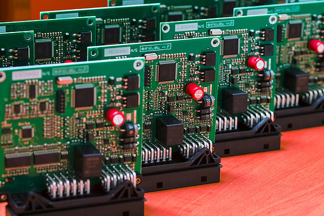 Small batch run of printed circuit boards from an experienced electronic contract manufacturer.