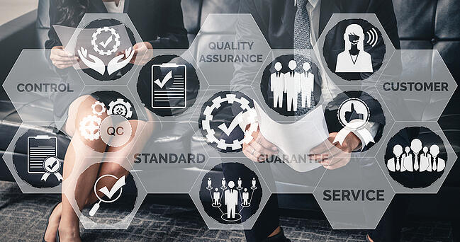 Quality assurance and certifications are one of the many benefits we provide our customers.