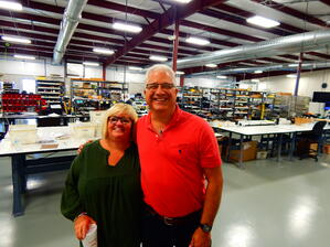 Dave Levison and his wife at Levison Enterprises 10 year celebration